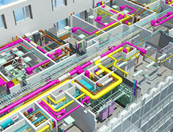 3D可视化管线、bim建模