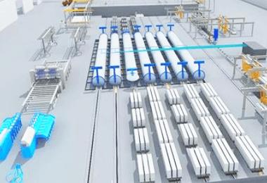 激光扫描建模、工厂产线建模、三维建模