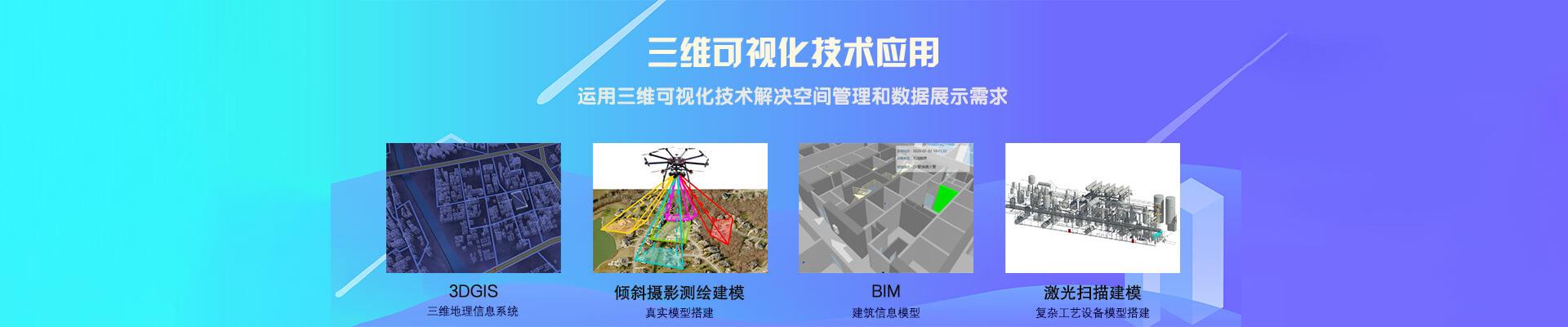 三维可视化、3DGIS、BIM、倾斜摄影测绘建模、激光扫描建模